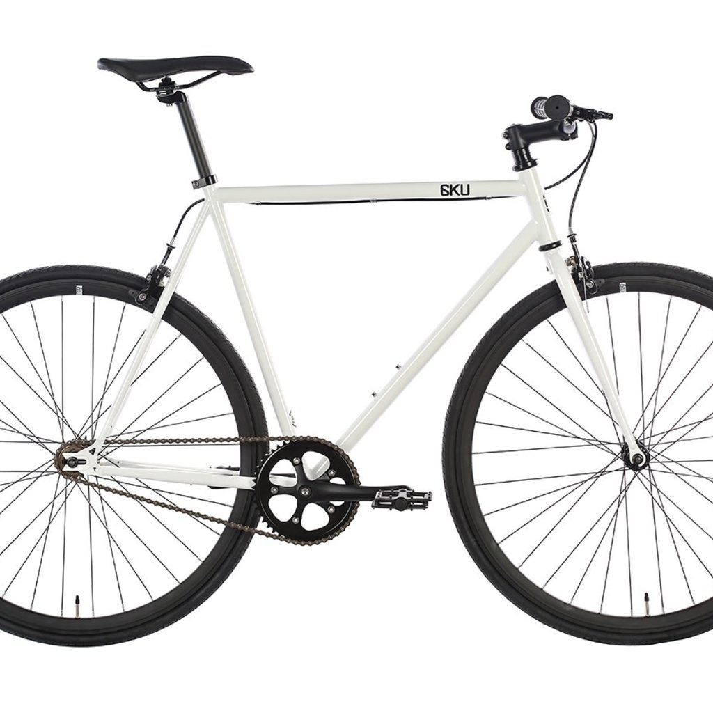 2018 6KU Fixie & Single Speed Bike - Evian 1Size:49cm (30mm rims)