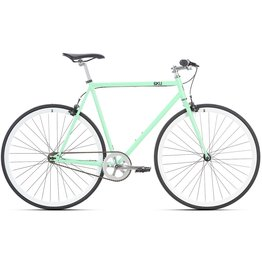 2018 6KU Fixie & Single Speed Bike - Milan 2Size:55cm (30mm rims)