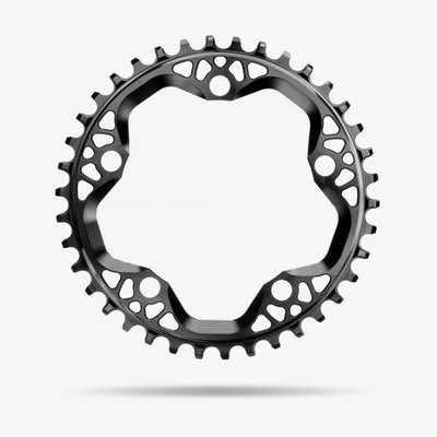 Absolute Black Absolute Black CX  Chainring Round 110 BCD