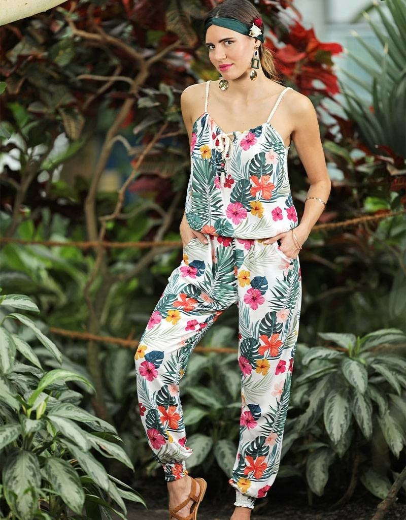Café Solo FASHION AND LIVING  Jumpsuit Hawaii