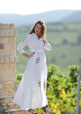Café Solo FASHION AND LIVING Dress Venedig White