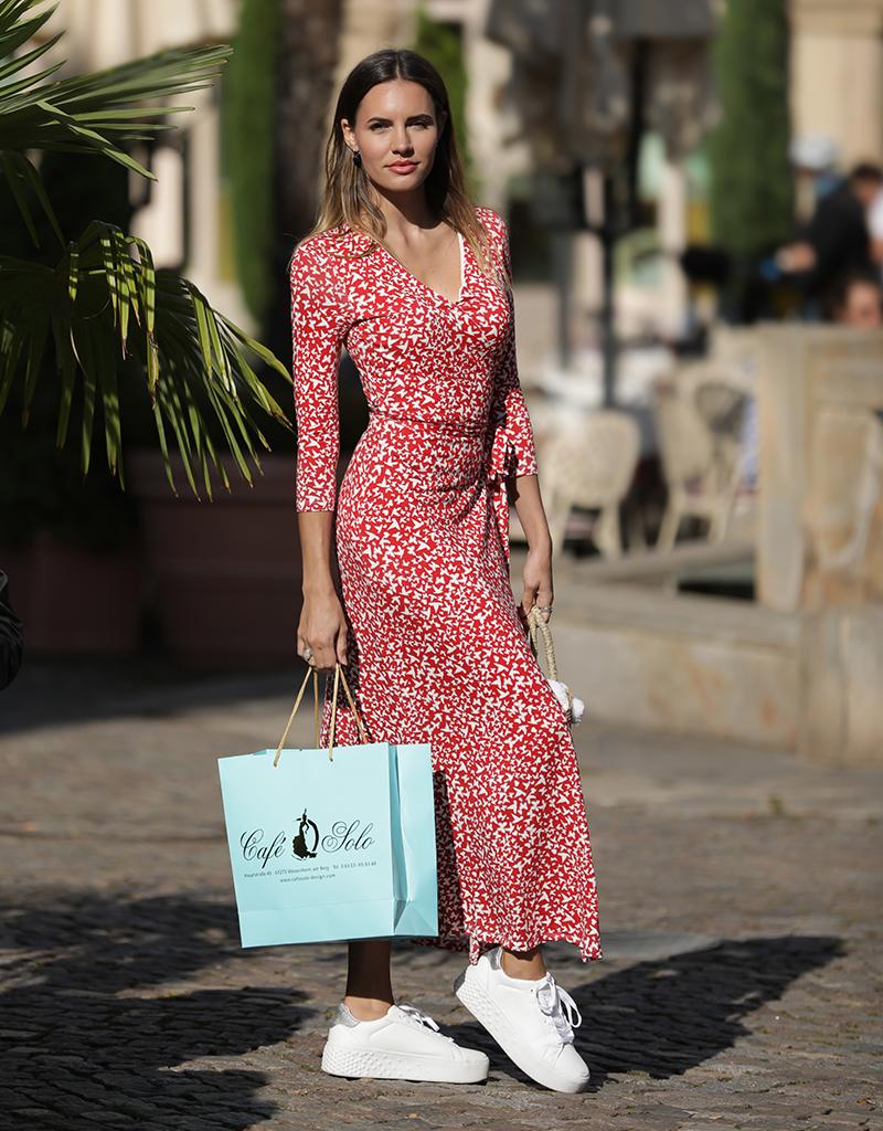 Café Solo FASHION AND LIVING  Dress Rimini Red