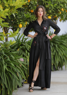 Café Solo FASHION AND LIVING Dress Venedig Black
