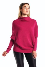 Café Solo FASHION AND LIVING Poncho-Pullover ''Pink''
