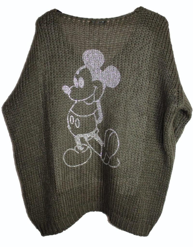 Café Solo FASHION AND LIVING Pullover ''Mickey''