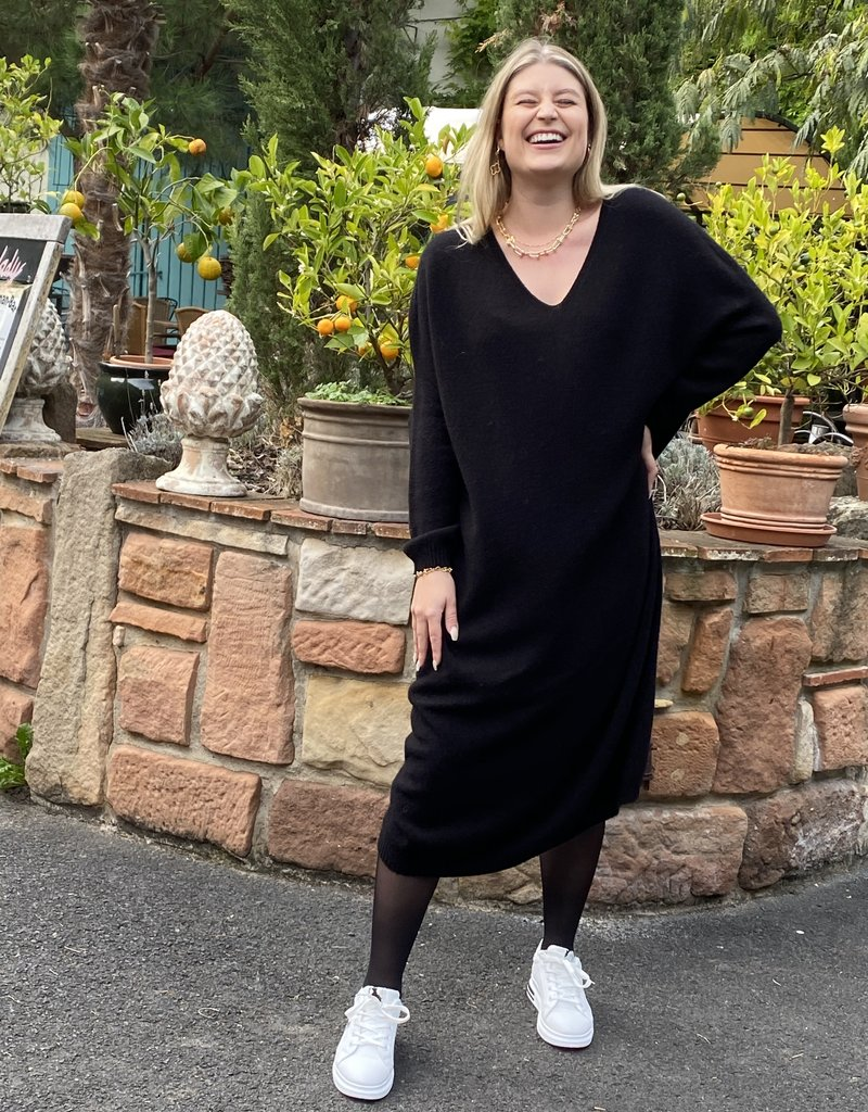 Café Solo FASHION AND LIVING Pullover Kleid