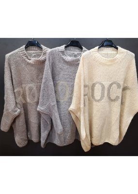 Café Solo FASHION AND LIVING Pullover ''Rock''