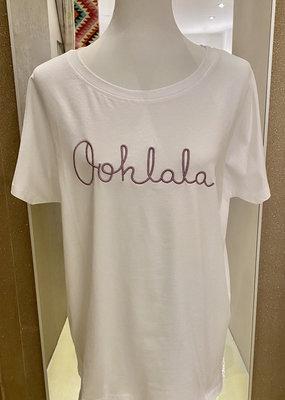 Café Solo FASHION AND LIVING Tshirt ''olala'' Rosa