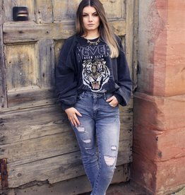 Café Solo FASHION AND LIVING Sweatshirt ''Tiger''