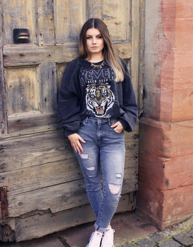 Café Solo FASHION AND LIVING Jeans ''Grey''