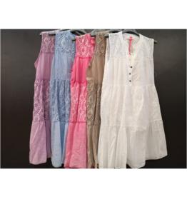 Andere Marken Kleid Lochstickerei Long