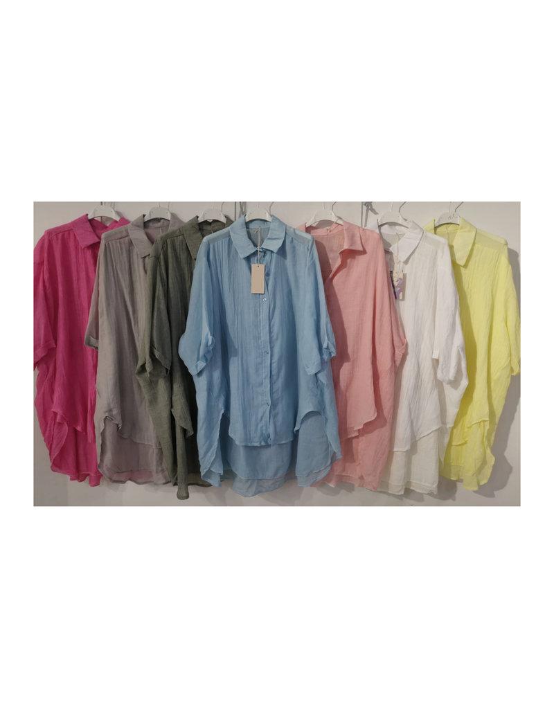 Andere Marken Leinen Hemd long