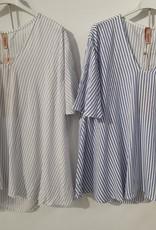 Andere Marken Kurzarmshirt gestreift
