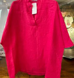 Andere Marken Oversized Leinen Hemd/Bluse