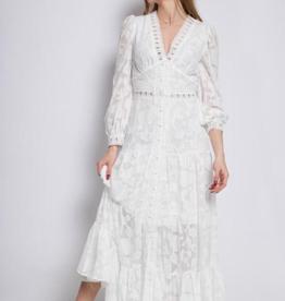 Andere Marken Langes Kleid mit Stickerei