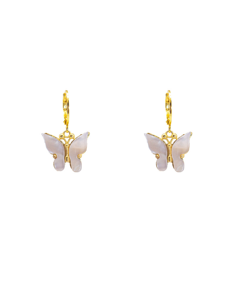 Café Solo Louis & Parmakerli Ohrringe Butterfly