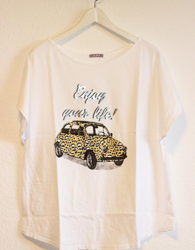 Andere Marken Basic T-Shirt Auto Motiv