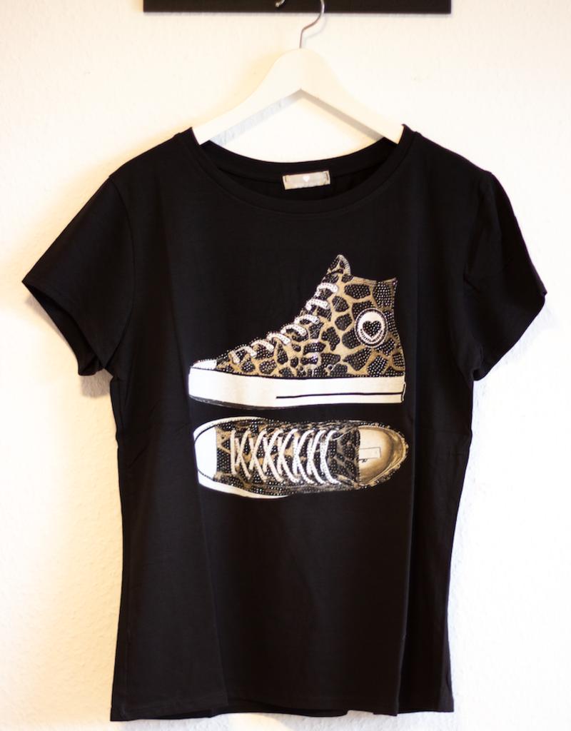 Andere Marken T-Shirt Schuhe print
