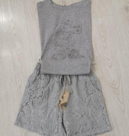 Andere Marken Komplett Outfit in Grau