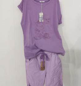 Andere Marken Komplett Outfit Flieder