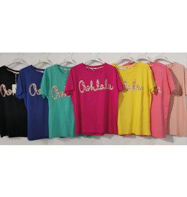 Andere Marken T-Shirt mit Frontdruck Ohlala