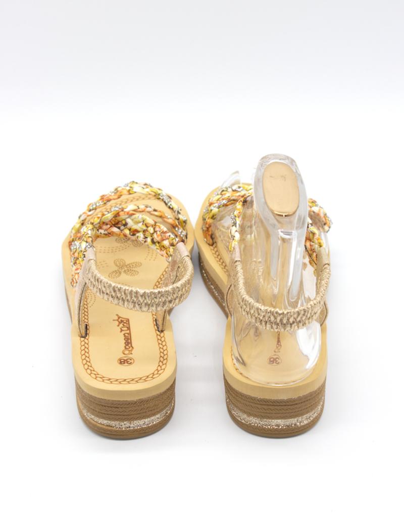 Andere Marken Sandalen Gold