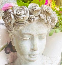 Andere Marken Frauenkopf Vase