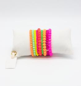 Café Solo Louis & Parmakerli Armband Fabulous Neon Set
