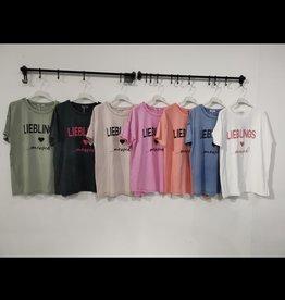 Andere Marken T-Shirt Lieblings Mensch