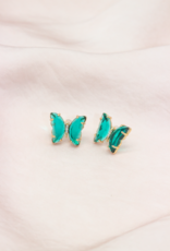 Café Solo Louis & Parmakerli Ohrringe Butterfly Nala