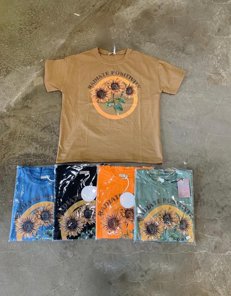 Andere Marken T-Shirt Sonnenblumen