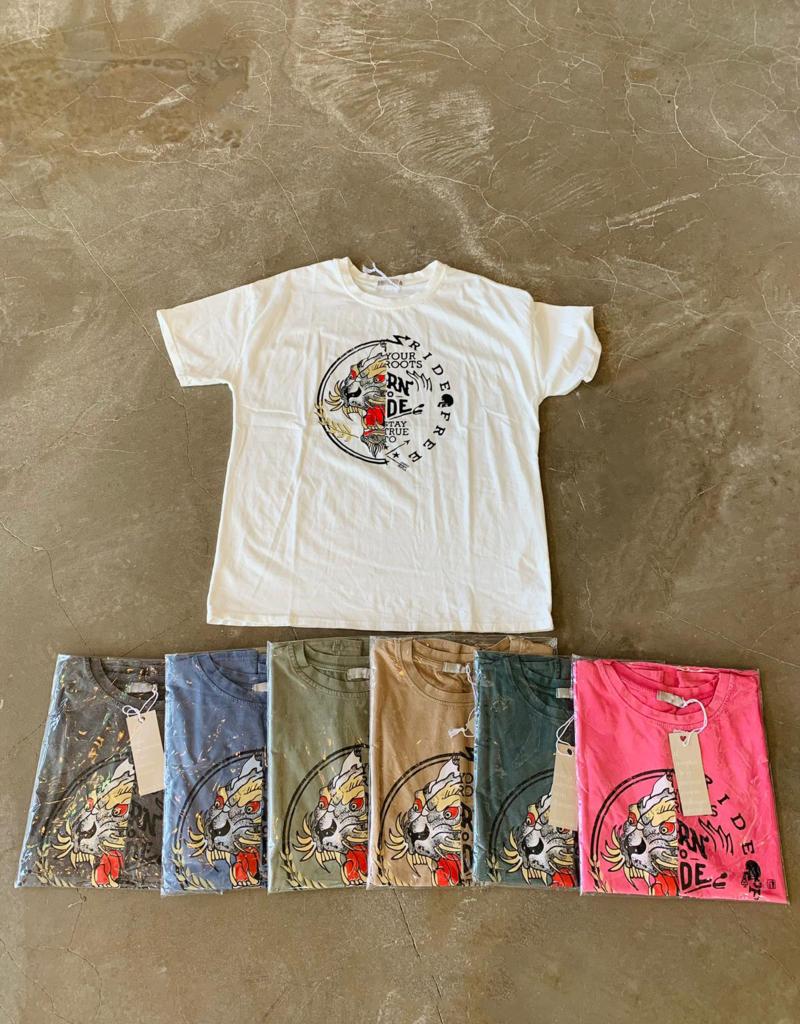 Andere Marken T-Shirt Ride Free