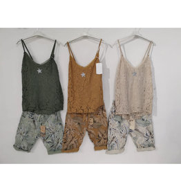Andere Marken Komplett Outfit Top  &Shorts Star