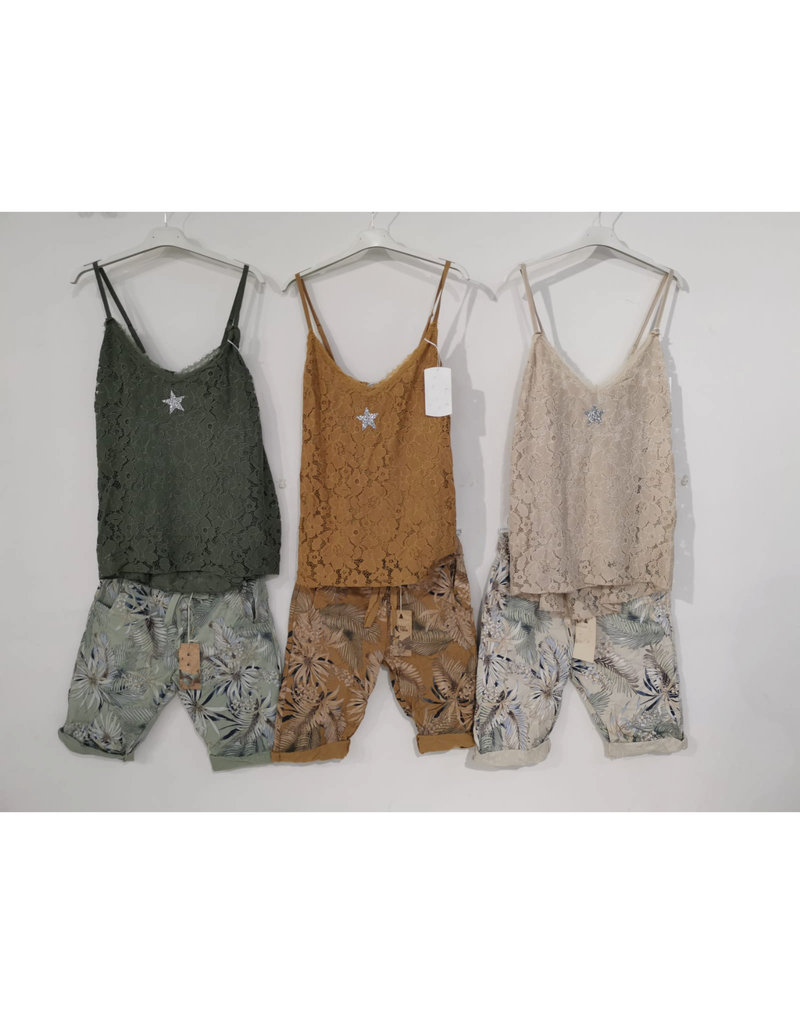 Andere Marken Komplett Outfit Top&Shorts