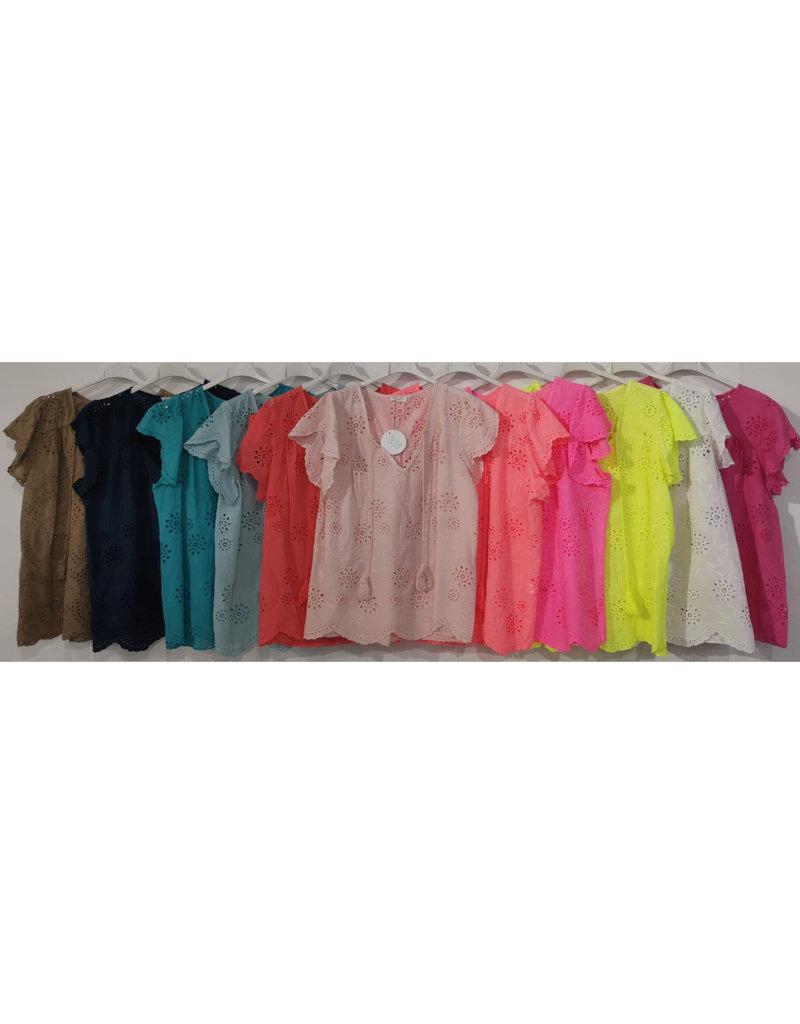 Andere Marken Bluse Mit Lockstickerei