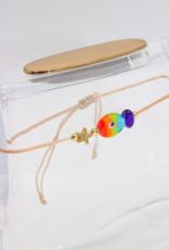 """Café Solo Louis & Parmakerli Fußkette """"Rainbow"""""""