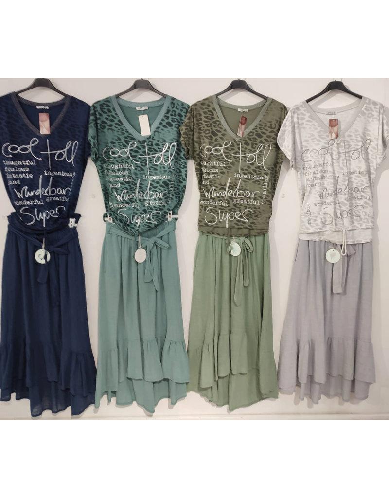 """Andere Marken Komplett Outfit """"Shirt & Rock"""""""