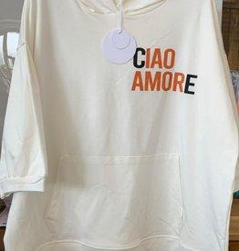 "Andere Marken Sweatshirt ""Ciao Amore"""