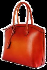 SAB Design Zakelijke tas dames oranje 13 inch