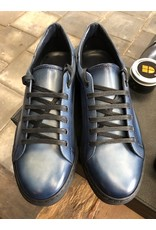Roel Berkelmans Sneaker - Blauw hand finish