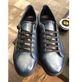 Roel Berkelmans Sneaker hand finish blauw