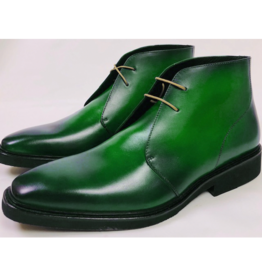 Roel Berkelmans Derby boot extra breed kleur appel groen
