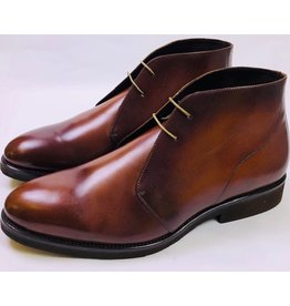 Roel Berkelmans Derby boot extra breed kleur cognac