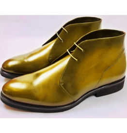 Roel Berkelmans Derby boot extra breed kleur honing
