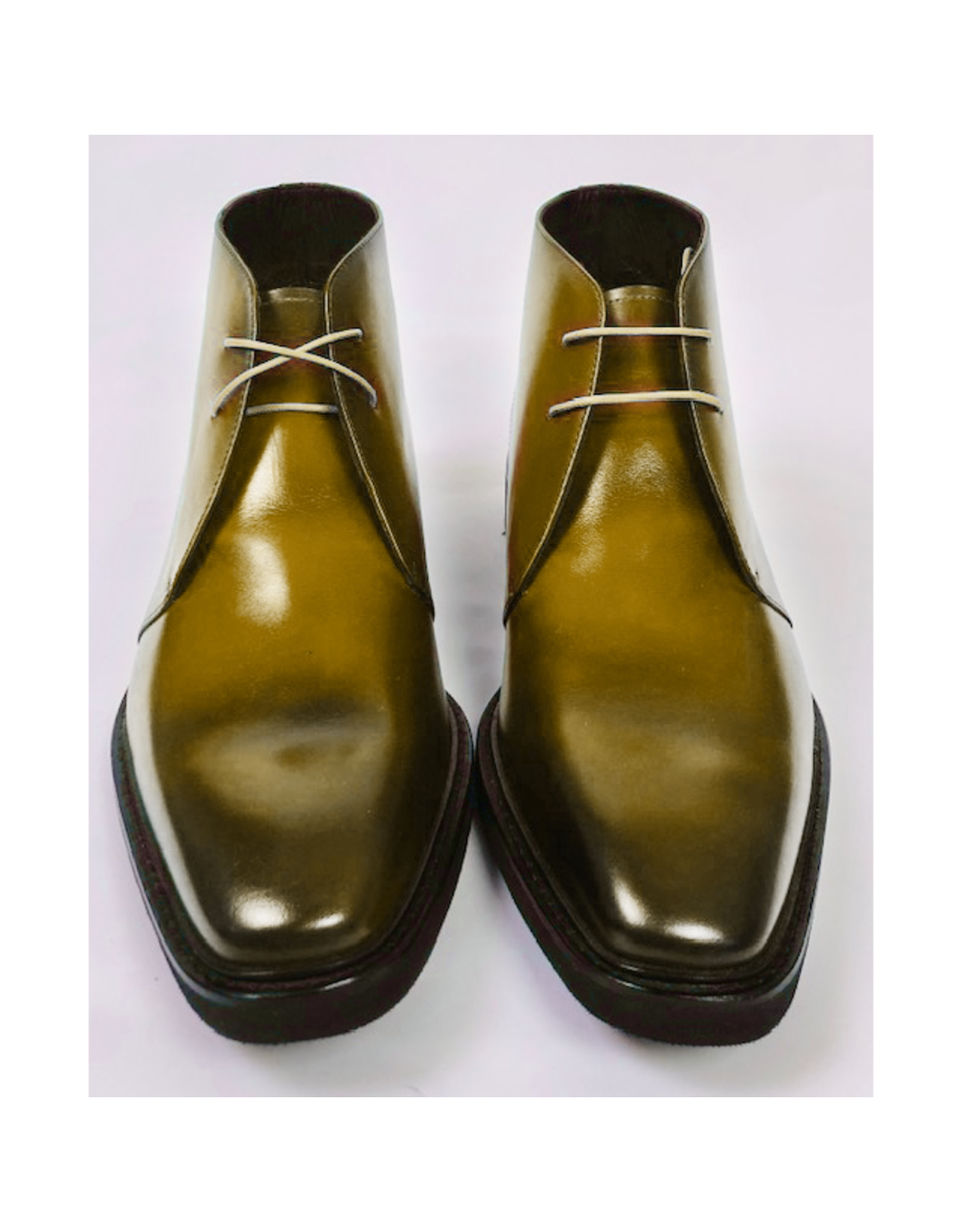 Roel Berkelmans Derby boot extra breed (H+) kleur honing