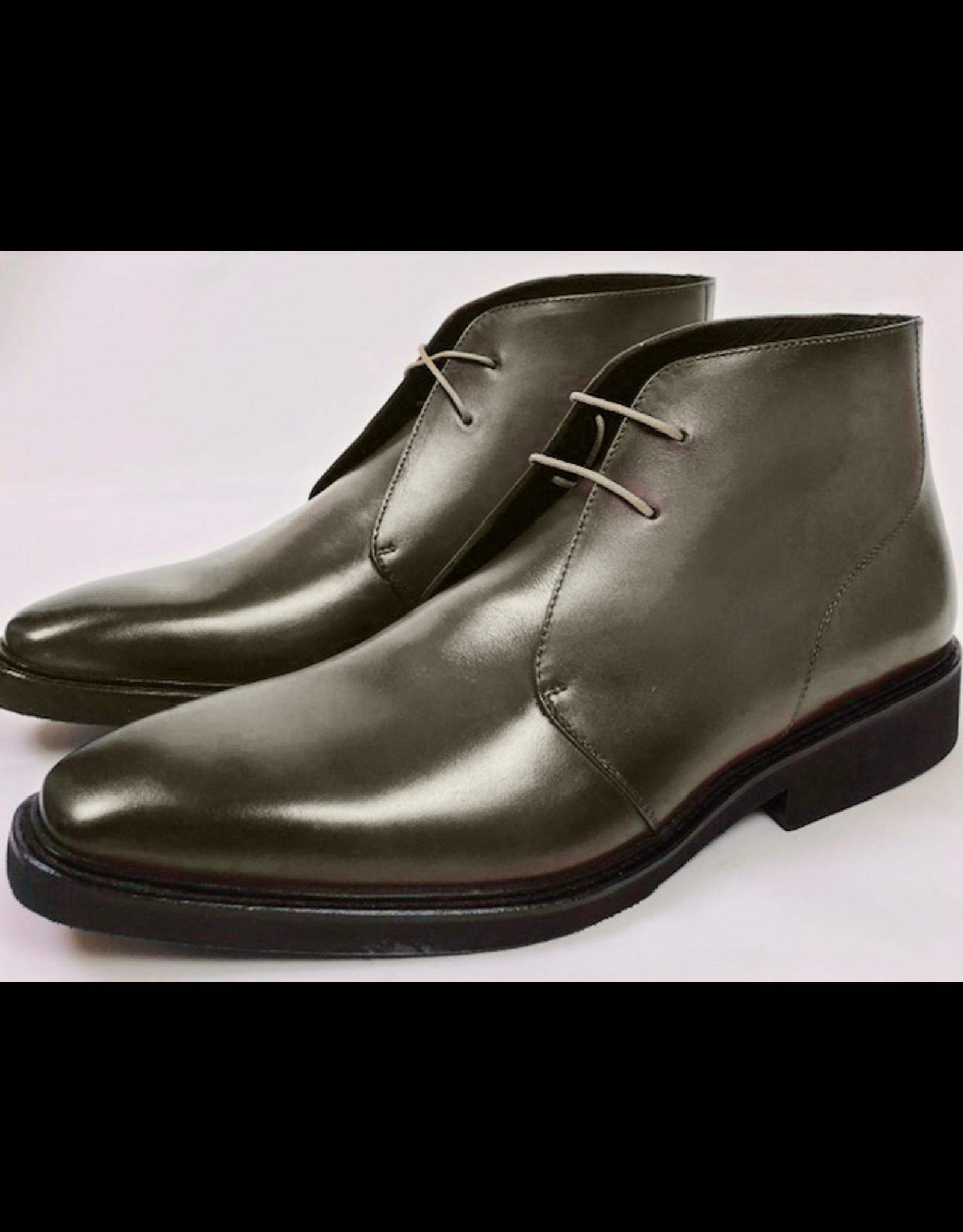 Roel Berkelmans Derby boot extra breed (H+) kleur grijs