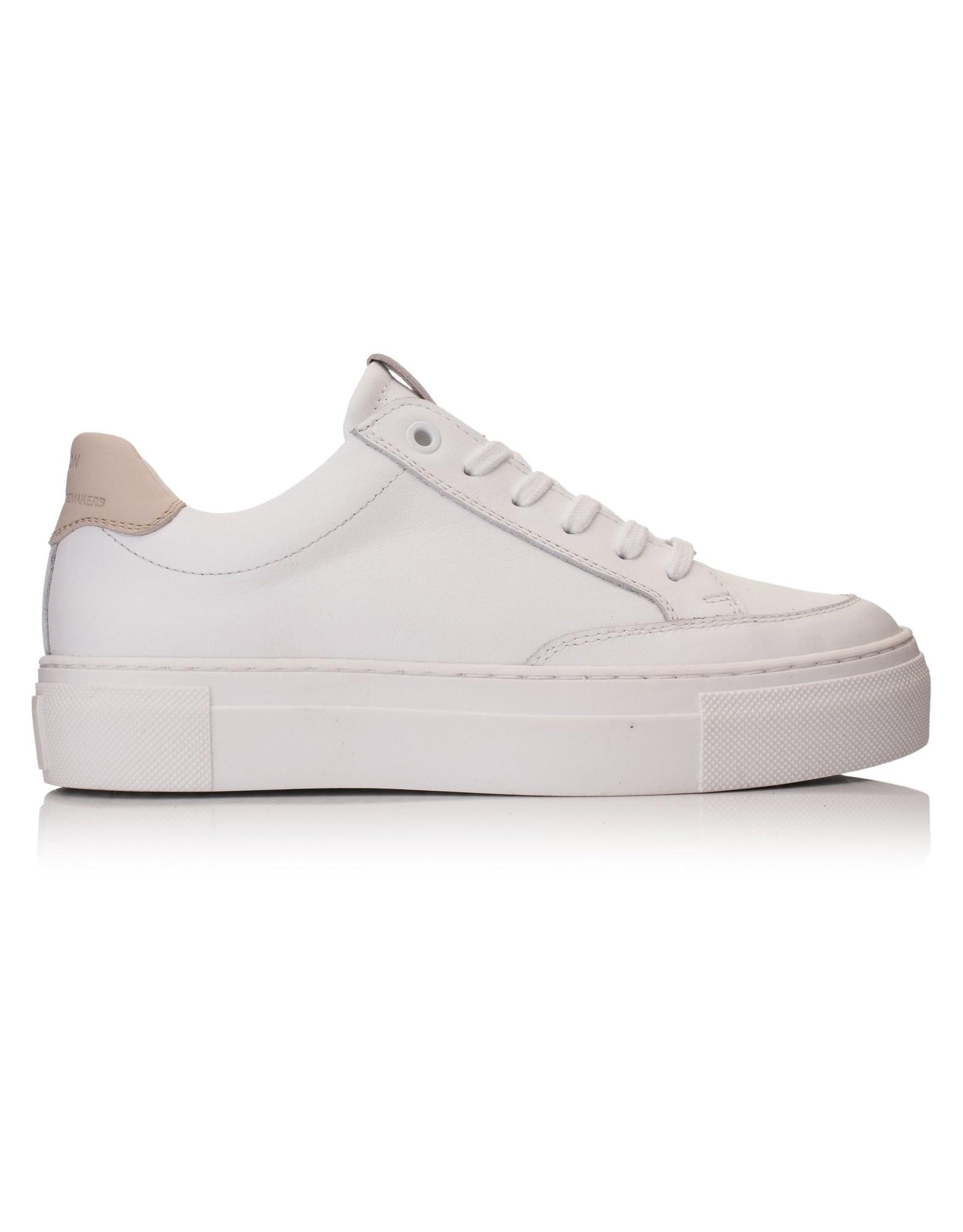 Hinson Sneaker leder dames wit