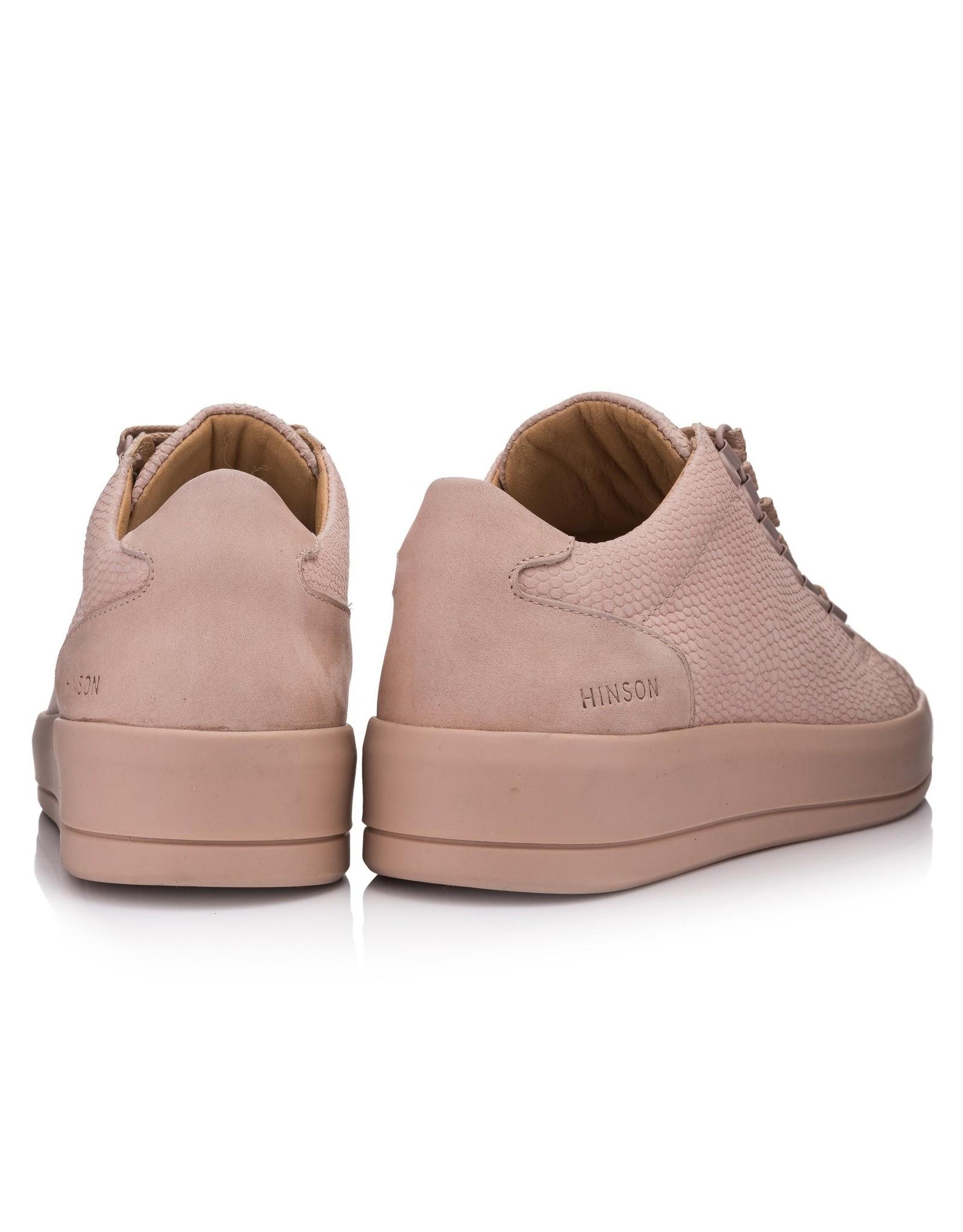 Hinson Sneaker dames roze zool wit