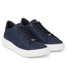 Hinson Sneaker heren blauw-zool wit