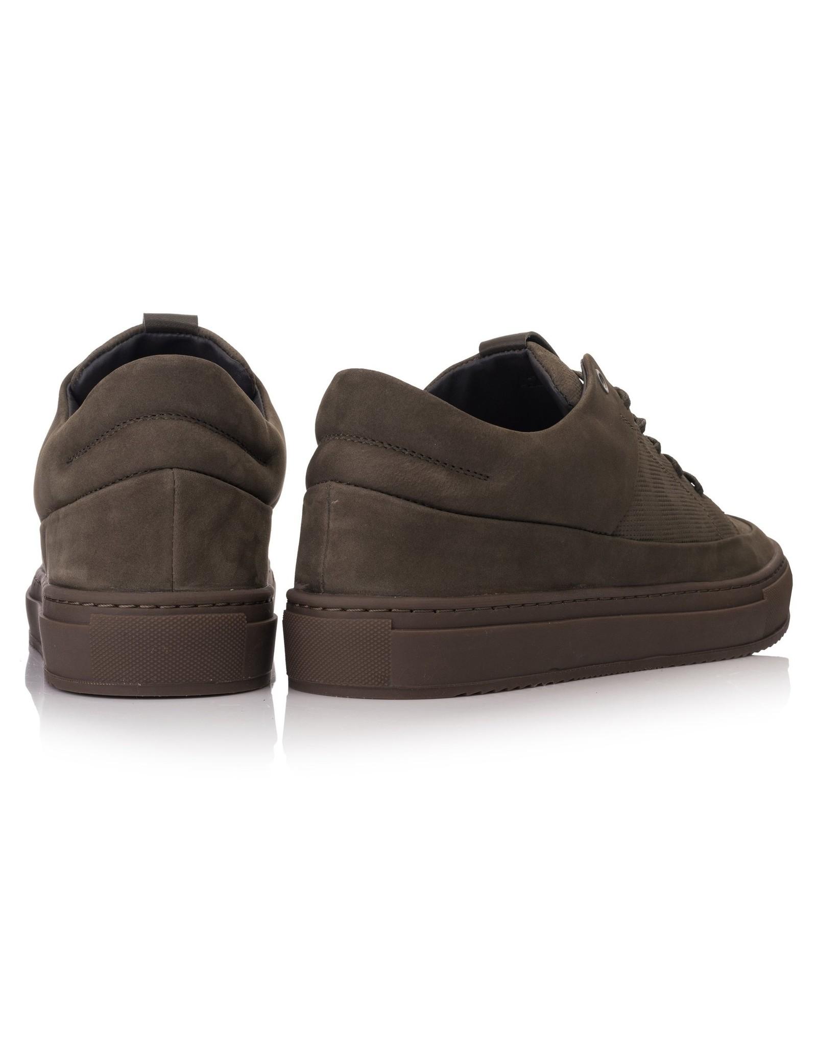 Hinson Sneaker olijf groen-zool olijf groen